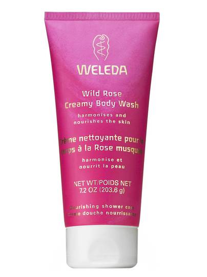 Weleda Wild Rose Creamy Body Wash, 200ml
