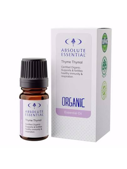 Absolute Essential Thyme Thymol (Organic), 5ml