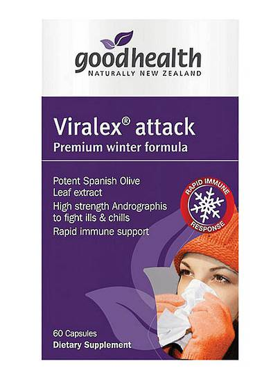 Good Health Viralex Attack, 60 caps