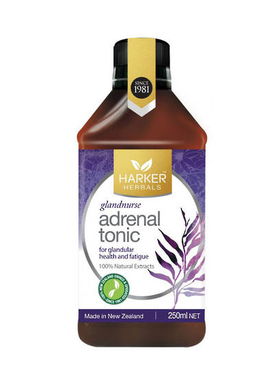 Harker Herbals Adrenal Tonic (Glandnurse), 250ml and 500ml