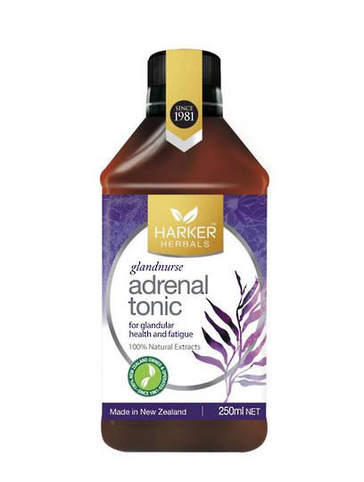 Harker Herbals Adrenal Tonic (Glandnurse), 250ml and 500ml