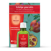 Weleda Pomegranate Gift Pack, Body Wash and Body Oil