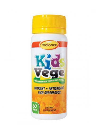 Radiance Kids Vege, 60 Tablets (Use by End June 2020)