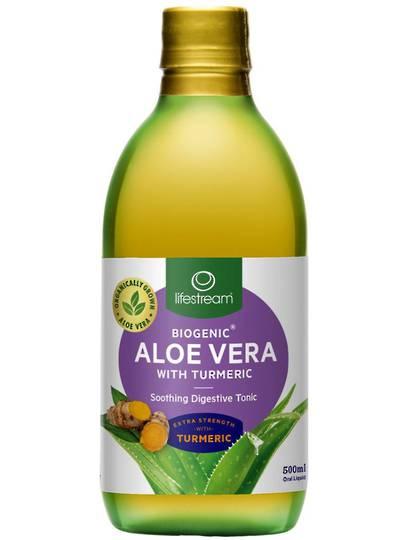 Lifestream Aloe Vera With Turmeric Tonic, 500ml