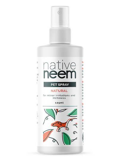 Native Neem Organic Neem Pet Spray, 125ml