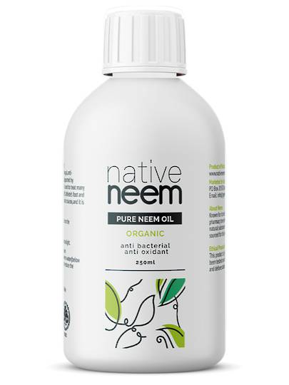 Native Neem Organic Pure Neem Oil, 250ml