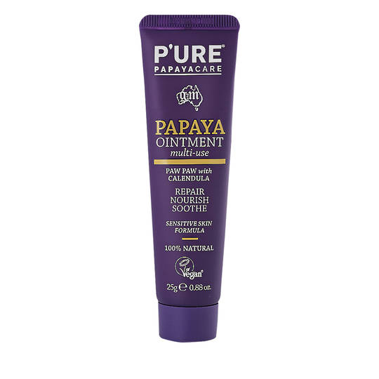 Pure by Phytocare Papaya Ointment with Calendula, 25g, 75g & 175g
