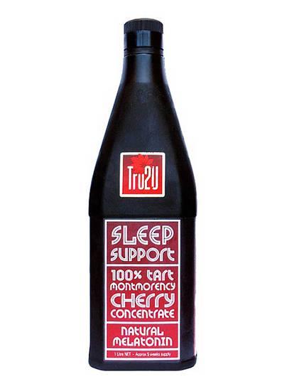 Tru2U Sleep Support Tart Cherry Juice 1Litre (original strength) Concentrate