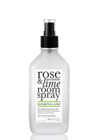 The Organic House - Rose Geranium & Lime Room Spray