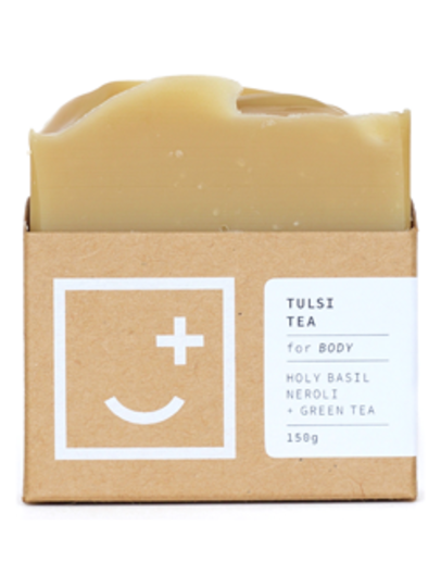 Fair and Square Soapery Tulsi Tea Soap, 150g