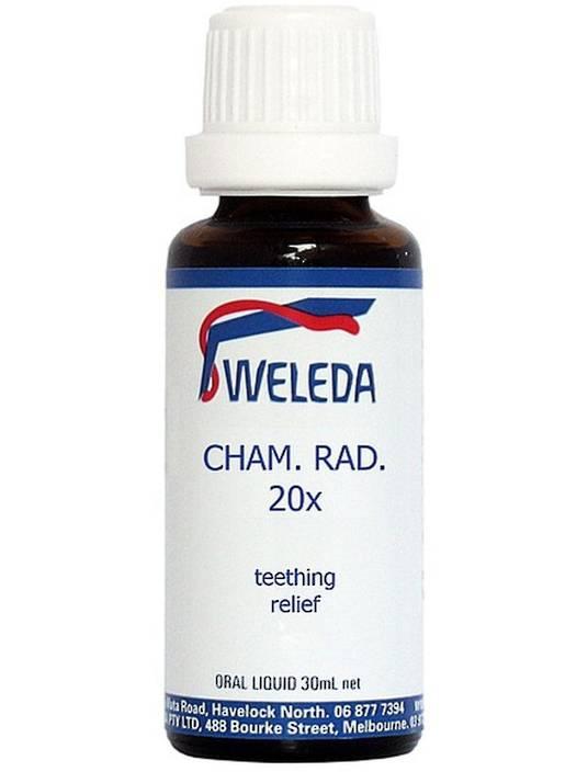 Weleda Cham Rad 20x Teething Drops