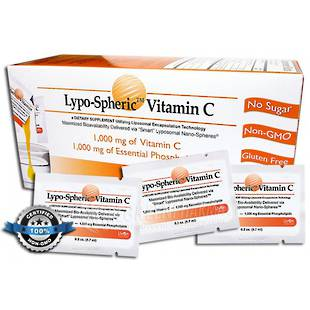 LivOn Lypo-Spheric Vitamin C, 30 sachets