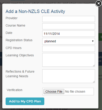 Add a non-nzls cle activity