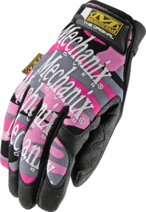 Mechanix Original Womens Pink Camo