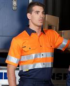 JB's Hi Vis 190gm Shirt Short Sleeve