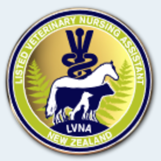 Listed Veterinary Nurse Assistant badge
