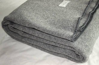 Heavy weight Pewter with blanket stitch
