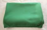 Moss Green Melton Woollen Blanket
