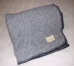 Heavy-Weight Wool Throw With Blanket Stitch
