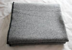Grey Marle Knitting Blanket