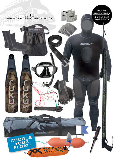 Elite Spearfishing Package | Black
