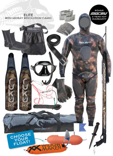 Elite Spearfishing Package | Camo