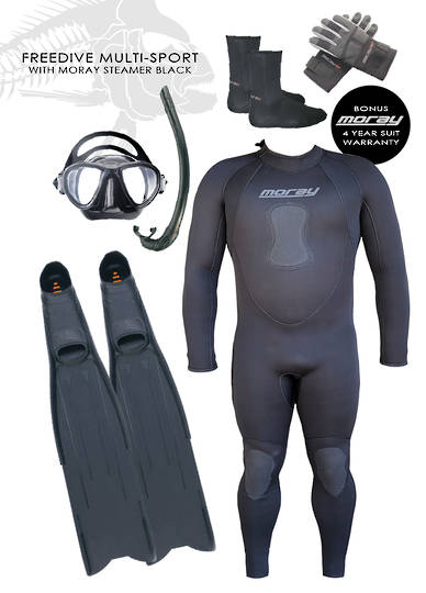 Freedive Multi Sport Package | Black