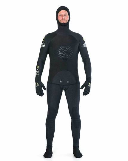 Hec's 5mm Spear Wetsuit Black 1 only in xl