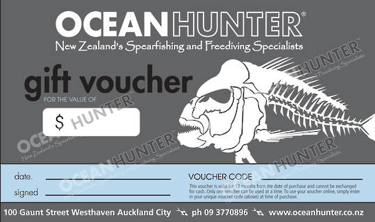 Ocean Hunter Gift Voucher