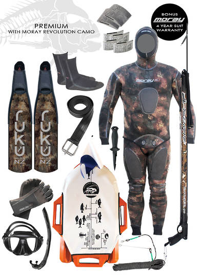 Premium Spearfishing Package | Camo