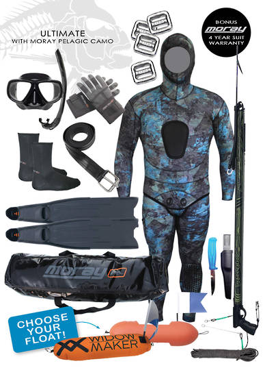Ultimate Spearfishing Package | Pelagic Reef Camo