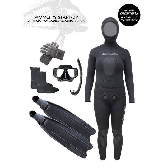 Women's Start Up Package | BLACK