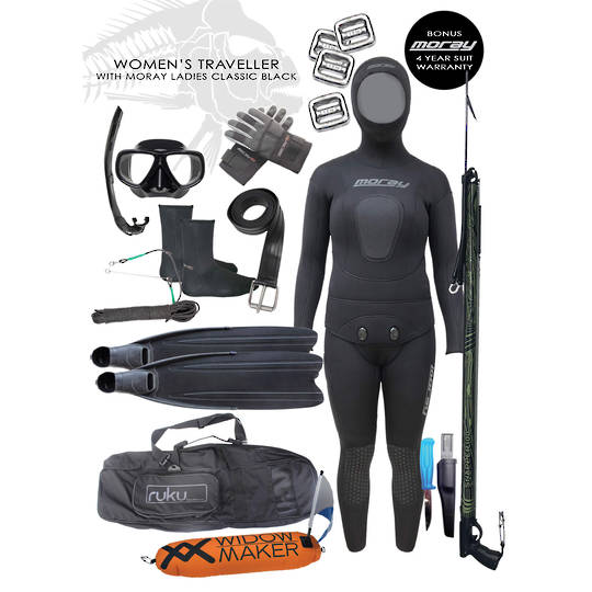 Women's Traveller Package | BLACK