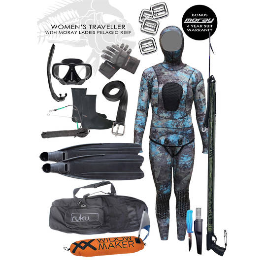 Women's Traveller Package | Pelagic Camo