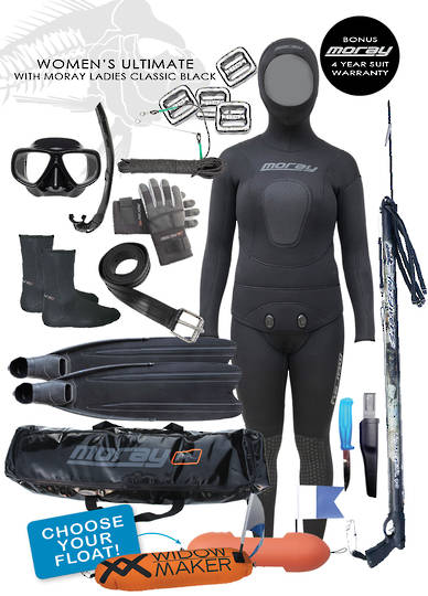 Womens Ultimate Package | BLACK