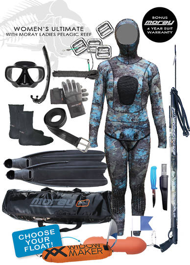 Womens Ultimate Package | Pelagic Camo