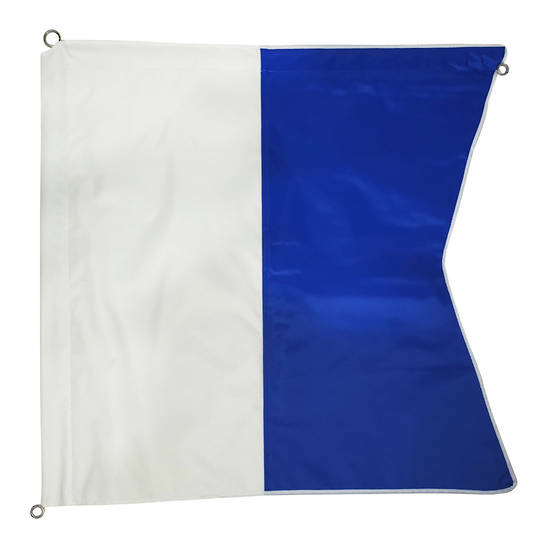 Boat Dive Flag Wired