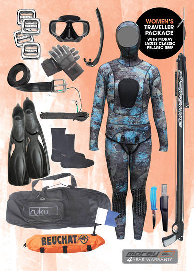 Womens Travellers Package | Pelagic Camo