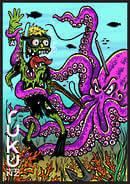 Ruku Blade Zombie Poster