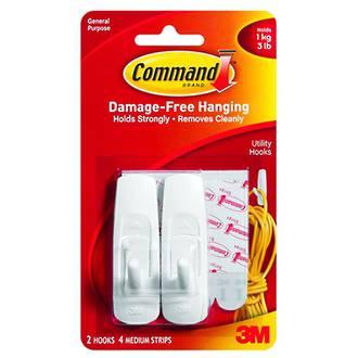 3M Command Hook Medium White