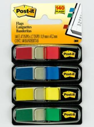 3M Post-it Flags 683-4 Primary