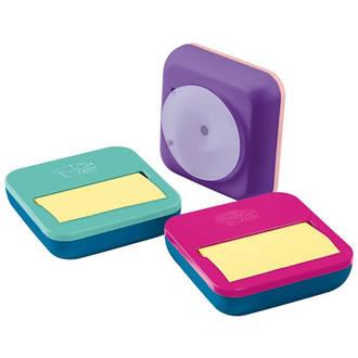3M Post-it Pop Up Dispenser OL-330-PD Asstd Colours w.50 sht pad