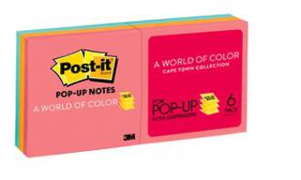 3M Post-it PopUp R330 Cape Town 6pk