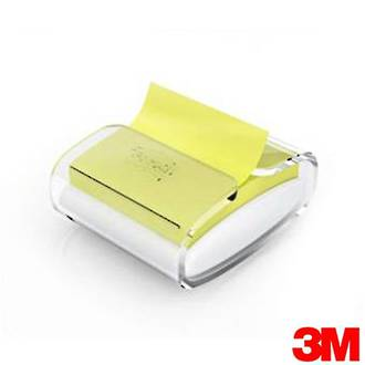Post-it Pop Up Note Dispenser Clear & White