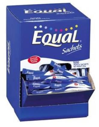 Equal Sweetener Stick Pkt 500