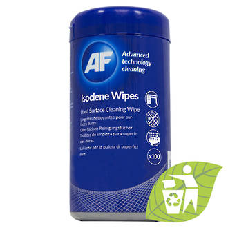 AF Isoclene Isopropanol Surfaces Wipes Tub 100 * SPECIAL *