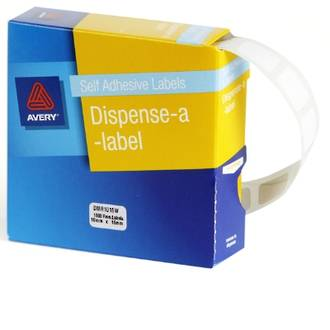 Avery DMR1016W 10x16mm Rectangle Labels