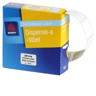 Avery DMR1624W 16x24mm Rectangle Labels