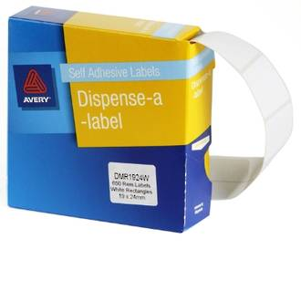 Avery DMR1924W 19x24mm Rectangle Labels