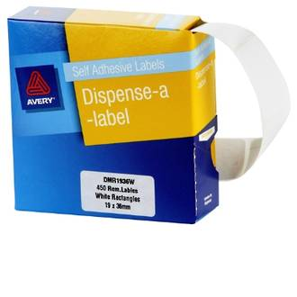 Avery DMR1936W 19x36mm Rectangle Labels